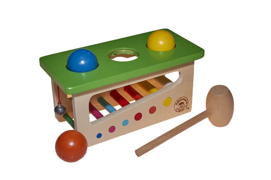 jeux marteau avec boules vente en gros de jouets en bois. Black Bedroom Furniture Sets. Home Design Ideas